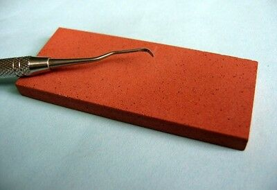 "Dental Instrument Ceramic Sharpening Stone 3"" x 1 1/4"" x 1/4"" Medium Grit"