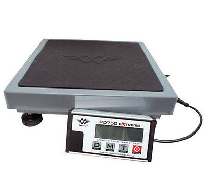 MyWeigh PD750 Extreme Heavy Duty Shipping Scale 340kg x 0.1kg USB & AC Adapter