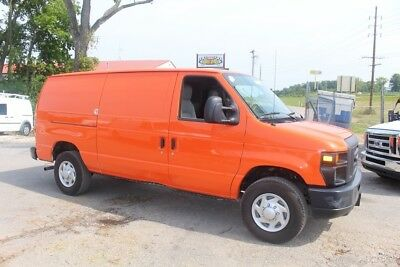 2013 Ford E-Series Van Commercial 2013 Commercial Used 4.6L V8 16V Automatic Orange cargo work service