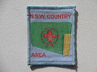 NSW Country Area Australian Scout Cloth Badge
