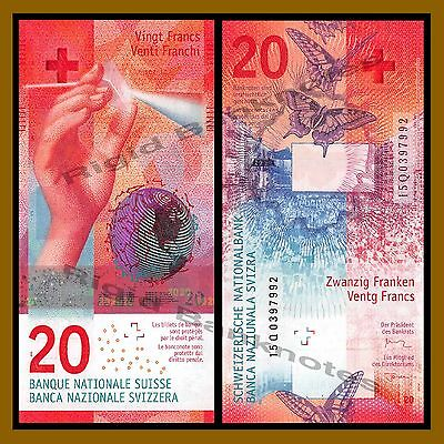 Switzerland 20 Francs, 2017 P-New Unc