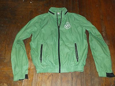 Borgata (Atlantic City NJ casino) green windbreaker jacket, man's M, polyester