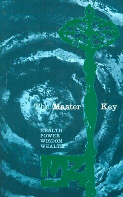 The Master Key by Haanel, Charles Hardback Book The Cheap Fast Free Post