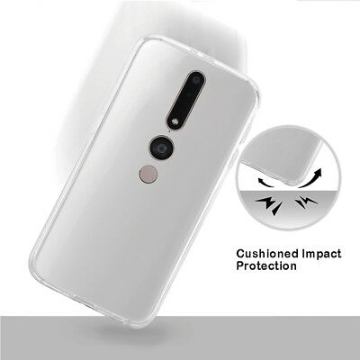 For Lenovo Phab 2 Clear Soft TPU Gel Case Skin Shockproof Cover Phone Shell