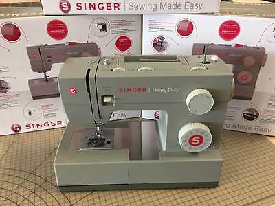 New Heavy-Duty Singer Sewing Machine, Leather, Fabric etc. 60% Stronger 3796-00