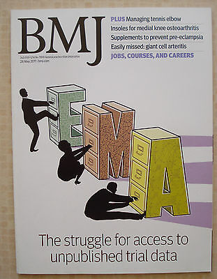 British Medical Journal May 2011 Tennis Elbow Knee Osteoarthritis Pre-Eclampsia
