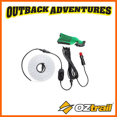 Oztrail LED 4M STRIP KIT 12V 3600 LUMENS DIMER SWITCH CAMPING GAZEBO LIGHT
