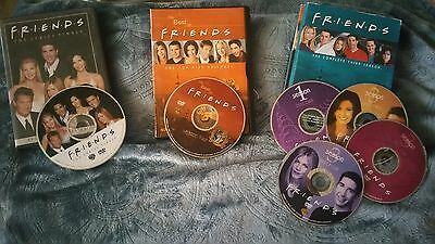 Dvd Friends Good Cond Season 3 & 4 And The Series Finale