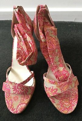 Kookai Paisley Shoes Size 9, New In Box