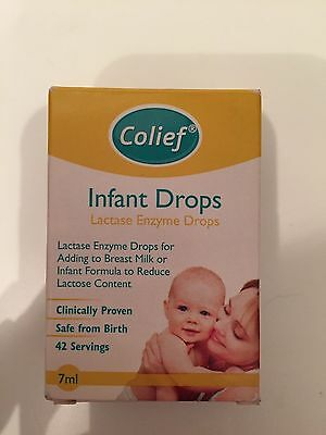 Colief Infant Drops 7ml Bottle, Opened But Unused. RRP £11.99