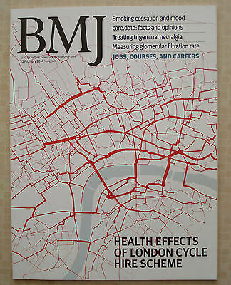 British Medical Journal Feb 2014 Smoking &mental Health London Cycle Hire Scheme
