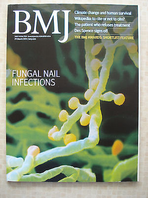 British Medical Journal Mar 2014 Fungal Nail Infections Wikipedia Climate Change