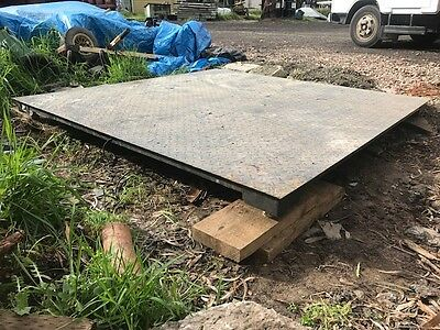 3000kg Floor Scale 2x2 meter. Electronic Platform Power Industrial Commercial