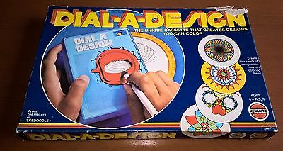 Vintage Dial A Design Drawing Toy