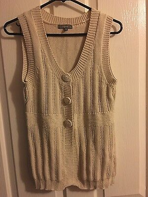 Katies knitted vest