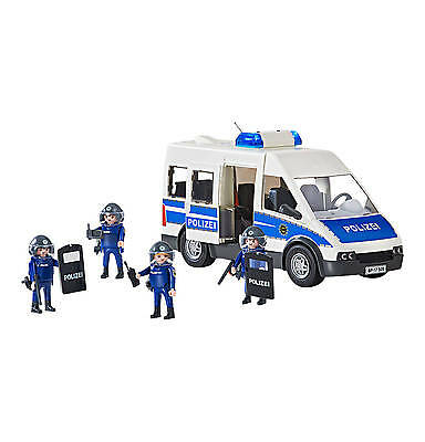 Playmobil - City Action - 9397 - Bundespolizei Mannschaftswagen - NEU OVP