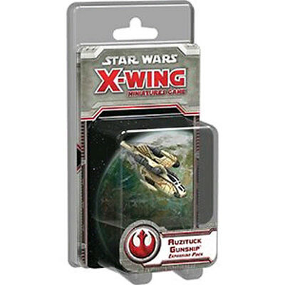 Star Wars - X-Wing Miniatures Game - Auzituck Gunship Expansion Pack NEW