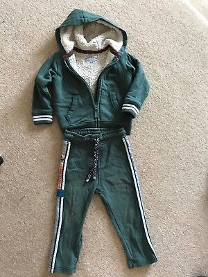 Marks And Spencer Boys Jogging Suit Age 18-24months