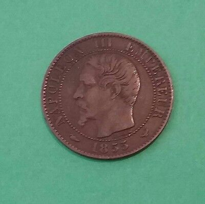 France 1855 W 5 centimes