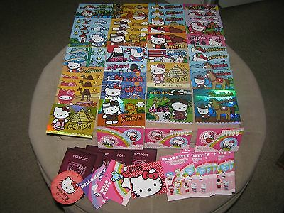 Hello Kitty Trading cards lot and others must see