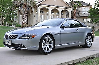 2006 BMW 6-Series Convertible Excellent 2006 BMW 650i Convertible only 66k miles