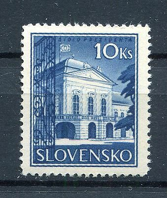 Slovakia Ww2 German Puppet State 1940 Presidential Palace Scott 44 Perfect Mnh