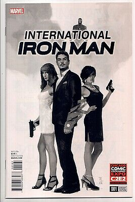 International Iron Man #1 - Chicago C2E2 Variant (Marvel, 2016) New/Unread (NM)