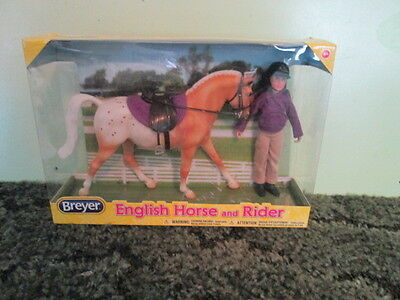 Breyer Classics Collection #61069 English Horse and Rider! -New in Box