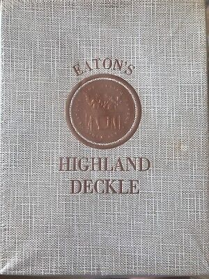 Eaton's Highland Deckle Open Stock Paper qty 6