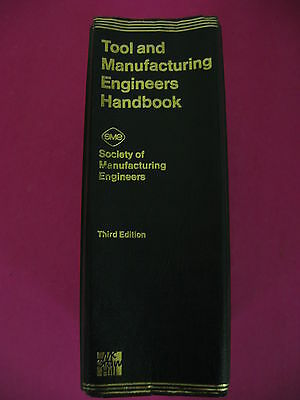 Tool and Manufacturing engineers Handbook