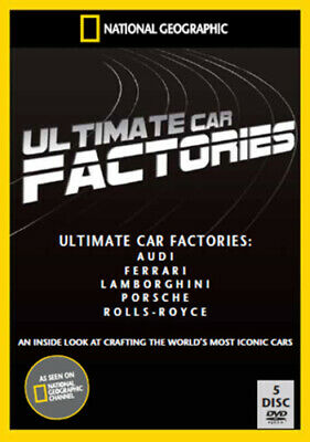 National Geographic: Ultimate Factories - Cars Collection DVD (2010) cert E 5