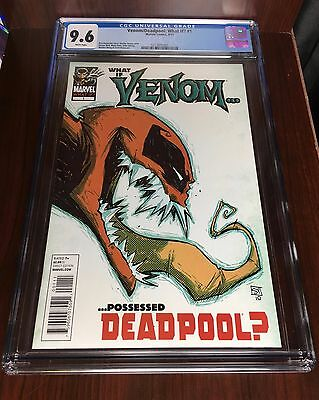 What If? #1 Venom Possessed Deadpool CGC 9.6 (Apr 2011) SCOTTIE YOUNG COVER