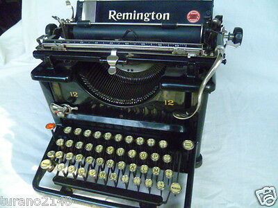Typewriter Remington 12   Superlativa Funzionante 100%
