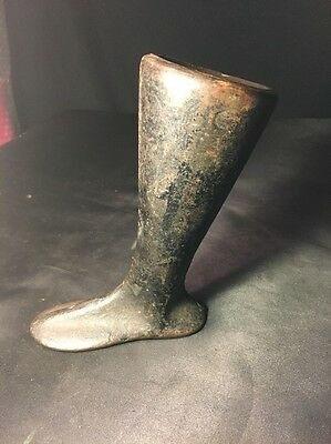 Antique Cast Iron Child's Cobblers Form, Boot Form-solid!!!