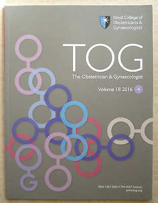 Tog The Obstetrician & Gynaecologist Vol. 18 2016