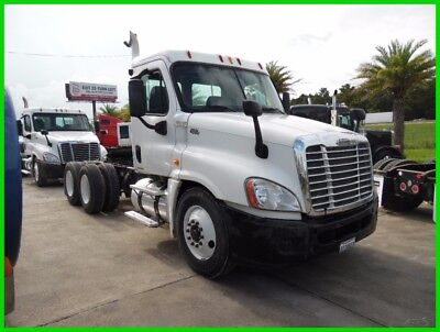 2010 Freightliner Cascadia White Used DS