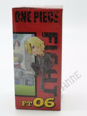 "One Piece WCF Fight Sanji Figure 2.5"" World Collectible Figure Sealed NEW FT06"