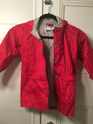 katmandu Childs Rain Jacket Size 4