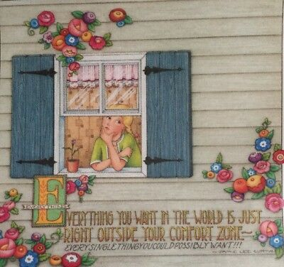 Handmade Fridge Magnet-Mary Engelbreit Artwork-Everything You Want
