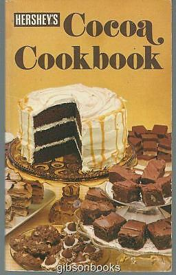 Hershey's Cocoa Cookbook 1979 Vintage Dessert Recipes