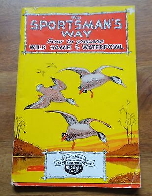1945 Heileman's Old Style Beer wild game and waterfowl food preparation book