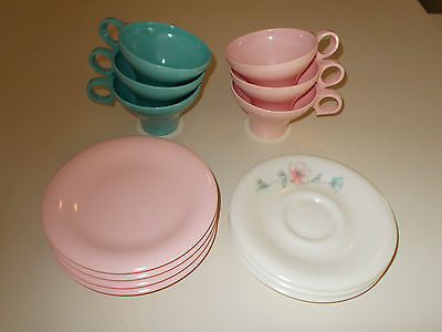 13 pc Russel Wright FLAIR Melmac Dishes by Northern