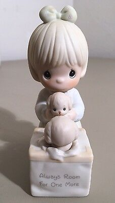 Precious Moments Figurine Always Room For One More #0009 Sam Butcher 1988
