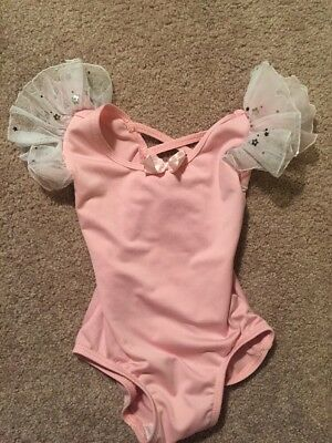 Girls Natalie Pink Dance Outfit Size Tc