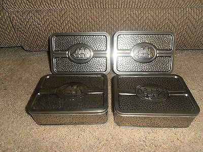 Lot Of 4 Vintage  Old Spice Tin Container Box