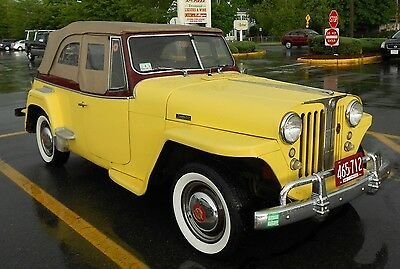 1948 Jeep Other  Willys Overland 1948 Jeepster Antique Vehicle