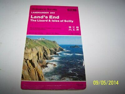 Land's End, the Lizard and Isles of Scil... by Ordnance Survey Sheet map, folded