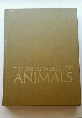 The Living World of Animals Readers Digest G-VGUC HC (no DJ) Iron on Transfer!