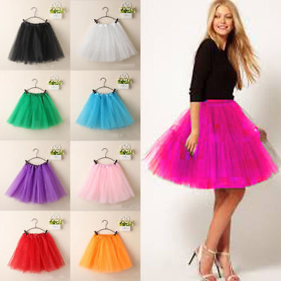 Womens/Adult 3 Layer Tutu Dancewear Party Magic Series Ballet Pettiskirt Skirt
