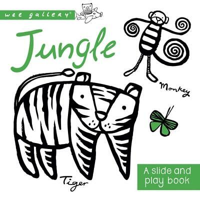 NEW Wee Gallery Board Books : Jungle By Anthony Burton Board Book Free Shipping